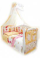 Детская постель Twins Comfort С-007 Садовники + БЕСПЛАТНАЯ ДОСТАВКА