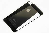 Защитное Стекло «iPhone 7 Plus» - 2 in 1 - Jet Black