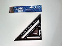 Угольник универсальный алюминиевый, 185х185х258 мм S-line 15-530