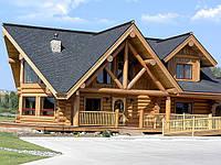Строительство деревянных домов из оцилиндрованного бруса