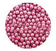 Сахарные жемчужины розовые (5 мм)