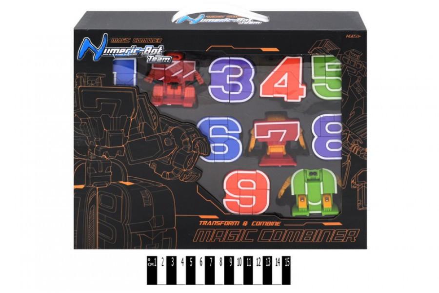 Цифры - трансформеры 32509A, цифри трансформер