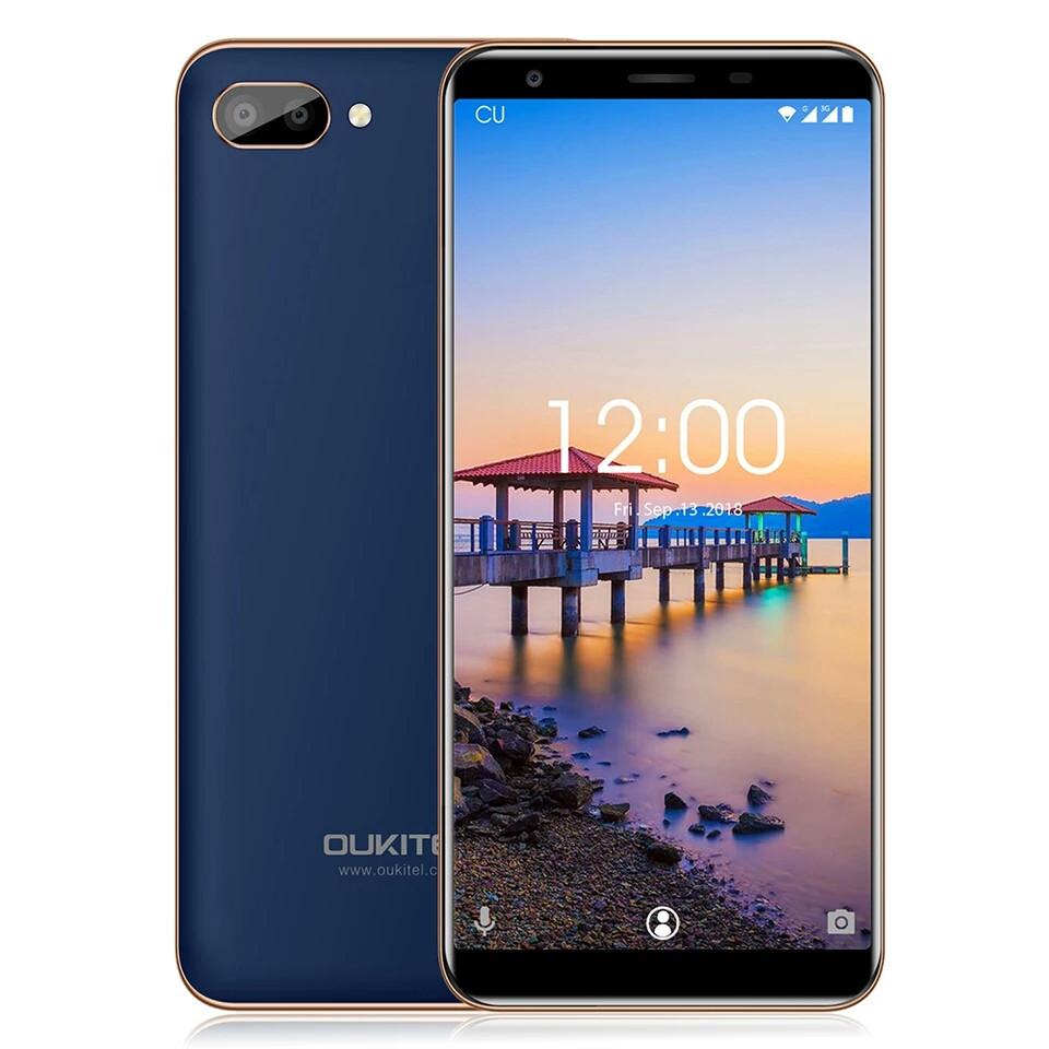 Смартфон Oukitel C11 Blue 1/8Гб 3400мАч в наличии + чехол