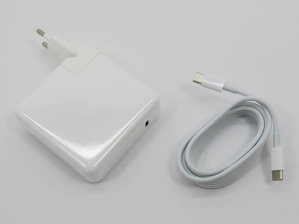 Блок питания APPLE USB-C (USB 3.1) 61W (20.3V, 14.5V, 9V, 5.2V) A1718 ORIGINAL. MacBook Pro MNF72LL