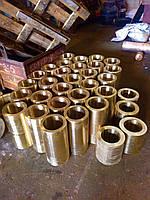 Изготовление латунных втулок и плит марки:  ЛС-59, Л63
