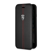 Книжка «iPhone 7 Plus, iPhone 8 Plus» «Ferrari - Heritage - Booktype Vertical» Black Чехол на айфон