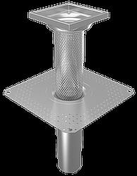 Воронка BLUCHER для експлуатованої та зеленої покрівлі DN110 арт.401.170.110
