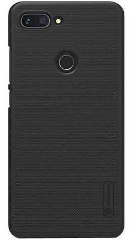 Чехол накладка Nillkin для Xiaomi Mi 8 Lite / Mi 8 X Matte ser. черный, фото 2