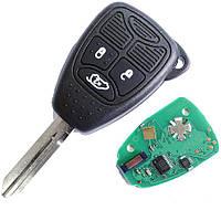Ключ для DODGE 3 кнопки 433Mhz chip id46 (PCF7941)