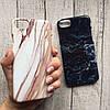 Чехол пластик мрамор для iPhone XR, фото 4