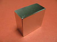 Неодимовый магнит 40х40х20 n38
