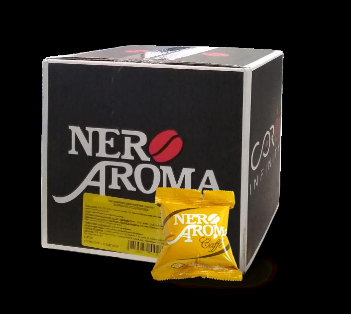 Кофе в капсулах Nero Aroma Gold 50 шт. 100% Арабика, Италия (Эспрессо Поинт)