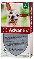 Капли на холку от паразитов для собак Bayer Advantix