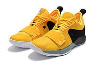 Баскетбольные кроссовки Nike Zoom PG 2.5 желтые