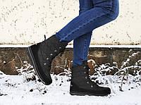Дутики женские зимние угги Pretty Style 205 размер 38 Черные, фото 1