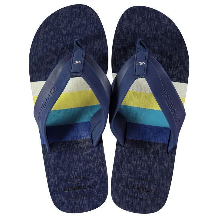 Тапки ONeill Imprint Pattern Flip Flops Mens