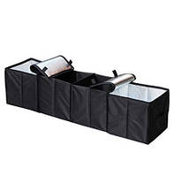 Складной органайзер с термобоксами для багажника авто