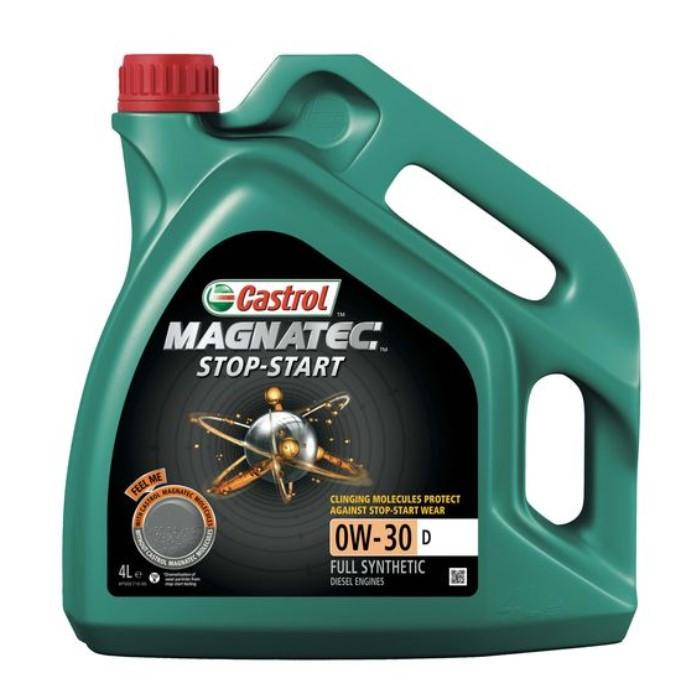 Масло моторное Castrol Magnatec стоп-старт 0W-30 D 4л