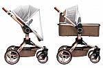 Коляска Miqilong V-Baby X159 бежева, фото 5