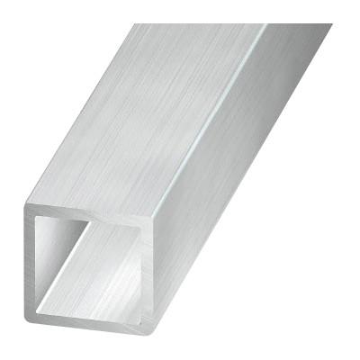 Труба алюминиевая квадратная Alu20x20x1.5an (пристенный профиль для фотоэлементов)