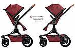 Коляска Miqilong V-Baby X159 2в1 Dark Red, фото 9
