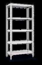 Стеллаж полочный Комби (1800х900х400), на болтовом соединении, 5 полок (металл), 180 кг/полка