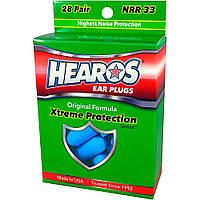 Беруші HEAROS XTREME PROTECTION NRR33 (28 пар)