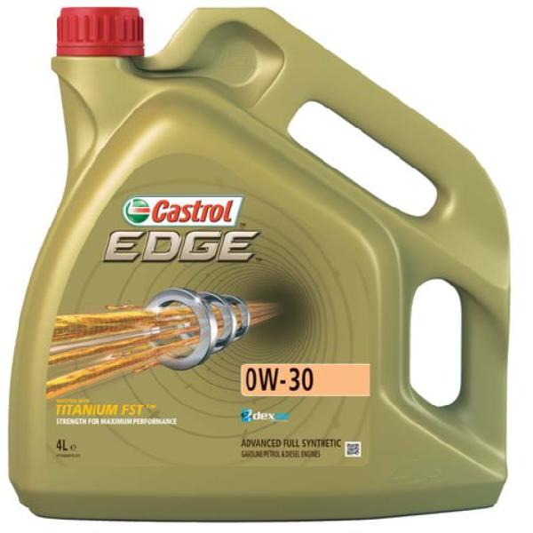 Олива моторна Castrol EDGE FST 0W-30 4л.