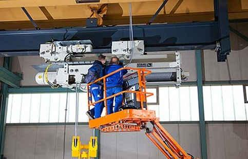 Обслуживание предприятий по ремонту кранов