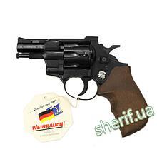 Револьвер под патрон флобера Weihrauch HW4 (дерево)  12170