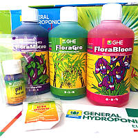 Комплект удобрений GHE Tripack Flora Series (SW)
