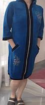 Стильний халат велюровий, фото 3
