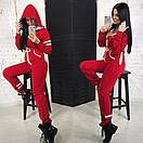 Женский теплый комбез с начесом милитари 58ks946, фото 3