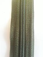 Змейка пластик спиральная Хаки № 55