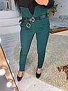 Женский классические брюки на высокой посадке 73bu310, фото 3