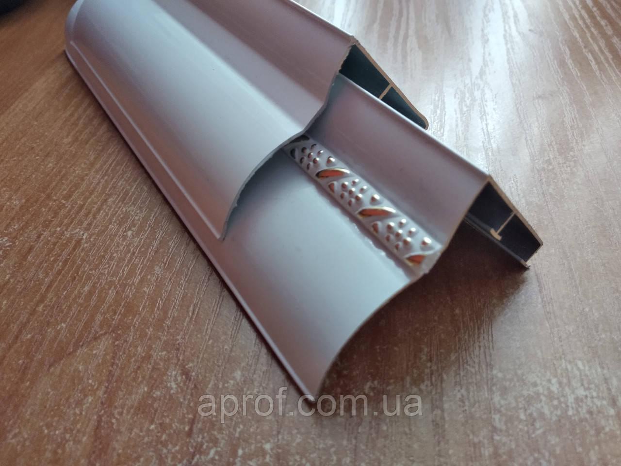 Карниз алюминиевый БПО-07 двухрядный (1,5 м)
