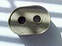 Уплотнитель трубок обратки печки к перегородке Mercedes 0008300998