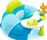 Детское кресло Cotoons с игровой панелью, голубое, Smoby toys, фото 1