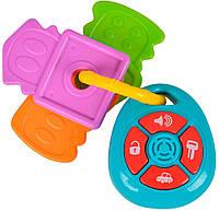 Погремушка Ключи со светом и звуком, ABC
