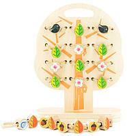 Шнуровка Дерево, Мир деревянных игрушек