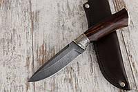 """Нож ручной работы """"Хищник-2"""" из дамасской стали"""