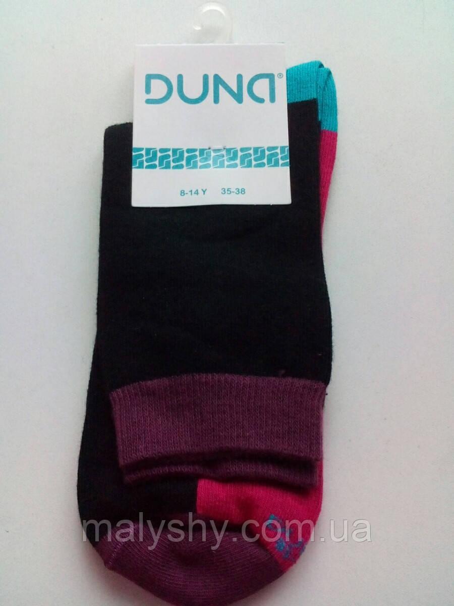 Детские носки демисезонные - Дюна р.22-24 (шкарпетки дитячі) 472-1557-черный