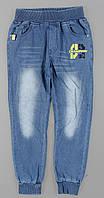 Брюки с имитацией джинсы для мальчиков F&D оптом, 8-16 лет., фото 1
