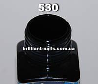 Витражный краситель 530, Черный, 2мл
