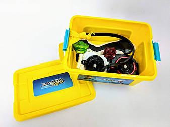 Beyblade Box + 5 блейдов - подарочный набор, фото 2