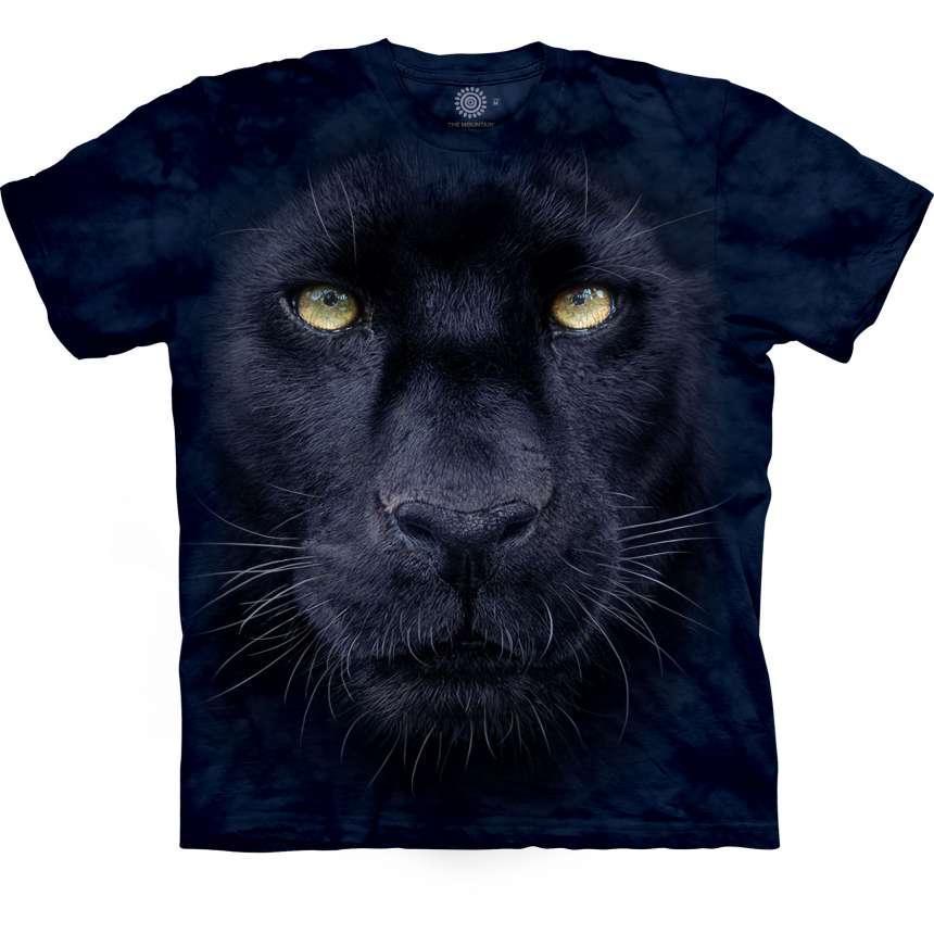 3D футболка для мальчика The Mountain р.M 7-10 лет футболки детские с 3д принтом рисунком - Взгляд Пантеры