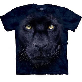 3D футболка для мальчика The Mountain р.M 7-10 лет футболки детские с 3д принтом рисунком - Взгляд Пантеры, фото 2