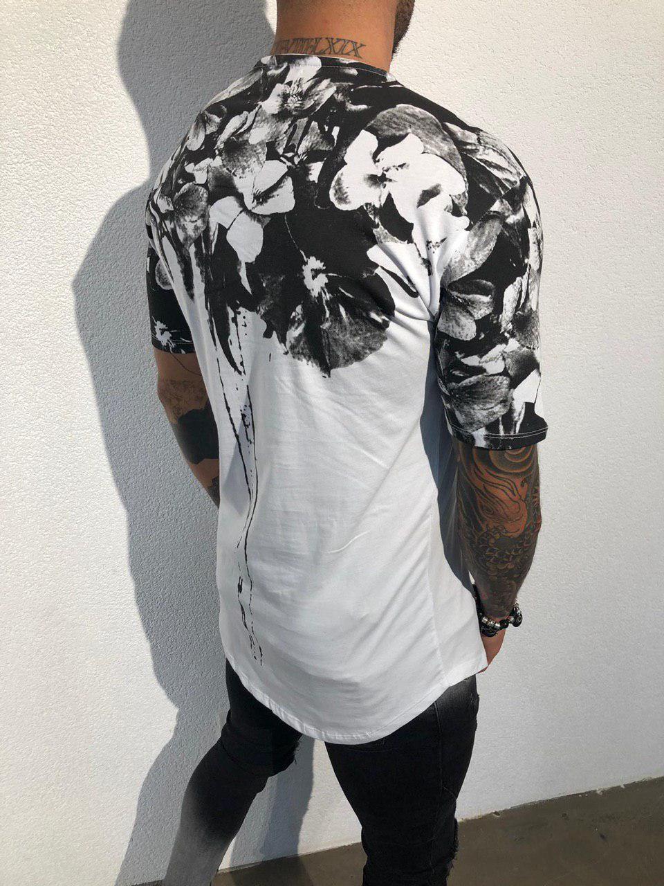 b22cf163b81a Мужская футболка Black Island ADA1942 бело-черная: продажа, цена в ...