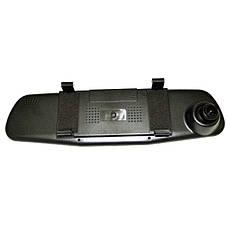 Автомобильный видеорегистратор зеркало с камерой заднего вида DVR 138W, фото 3