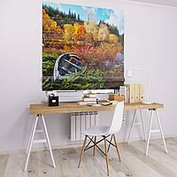 Римская штора с фотопечатью Осенняя природа